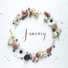 Happy I love the holidays, but January (despite the cold weather) is so nice because we can wipe the slate clean and start. Days And Months, Months In A Year, New Years Eve, Seasons Months, 12 Months, Winter Months, Janeiro Wallpaper, Neuer Monat, Month Flowers