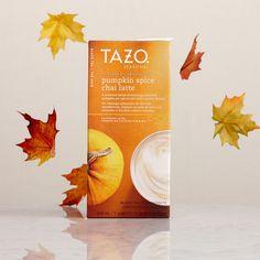 Tazo® Pumpkin Spice Chai Tea Latte Concentrate. $5.95 at StarbucksStore.com