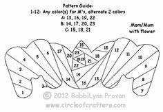 Printable Iris Folding Cards Patterns - Bing images