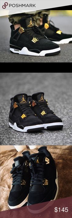 RETRO AIR JORDAN 4 ROYALTY Look like urban royalty in this pair of Jordans.  Retro 7ee3ba70a