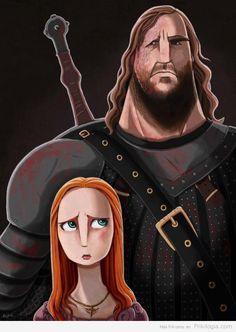 El Perro y Sansa Stark