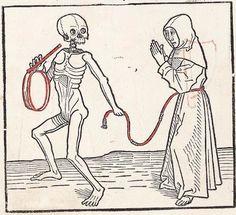 Heidelberger Totentanz Heidelberg: Heinrich Knoblochtzer, nicht nach 1488 GW M47257  Folio 15v