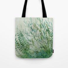 Ferns and Fog Tote Bag