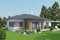 Musterhaus bungalow modern  Riviera - Einfamilienhaus von RENSCH HAUS GmbH | Haus XXL #modern ...