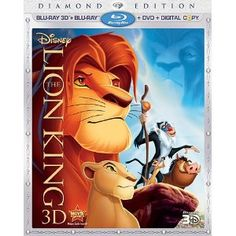 The Lion King (Four-Disc Diamond Edition Blu-ray 3D / Blu-ray / DVD / Digital Copy) #BluRay $29.99