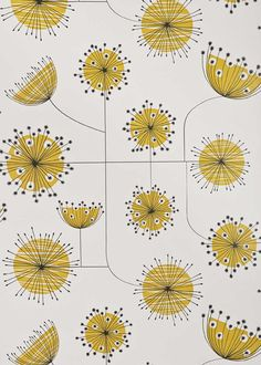 Wallpaper Miss Print Dandelion Mobile 35MISP1024