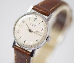 Mid century mechanical watch Youth tiny women's watch by SovietEra, $82.00