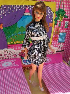 Twist 'n Turn Barbie  era mod  mattel by super.star.76, via Flickr