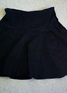 À vendre sur #vintedfrance ! http://www.vinted.fr/mode-femmes/autres-jupes/32035102-jupe-courte-noire-evasee-coton