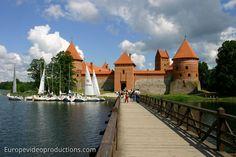 Château de l'île de Trakai en Lituanie