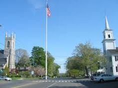 A view of Main St or Rte 25 in Newtown.