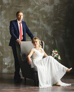 Свадебная фотосессия в студии Wedding photo in studio celaine-studio.ru