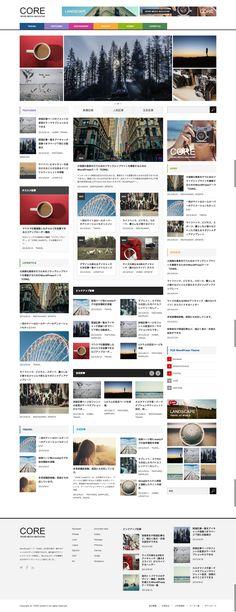 CORE (tcd027) | WordPressテーマ「CORE (tcd027)」デモサイト