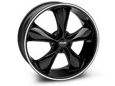 Black Foose Legend Wheel - 20x8.5 (05-13 All, Excluding GT500) Yepp love em'