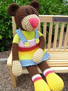 Louisa, crochet Bear ♥