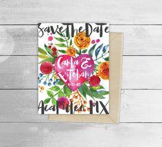 Mexican Sacred Heart Frida Flower Design Invitation by vivalapress