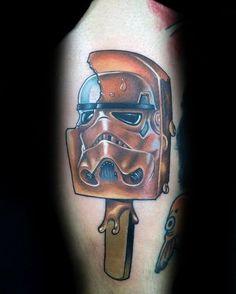 Stormtrooper Tattoo, Tattoo Designs Men, Star Wars, Skull, Ink, Mens Fashion, Stars, Tattoos, Ideas
