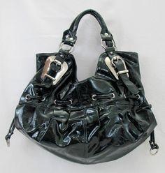 Dark green patent leather purse $19.99