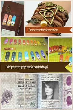 DIY Harry Potter Planer - Filofaxing step-by-step   the blossom's place