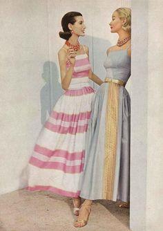 All sizes | Photo by Horst P Horst, January Vogue 1956 | #GoConfidently www.jolenbeauty.com