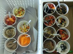 Our staff enjoyed delicious frozen yogurt on #NationalFroyoDay! Lots of yummy toppings! :)