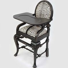 Gorgeous gothic highchair!!