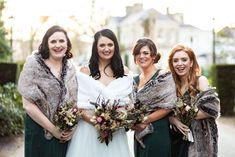 christmas wedding bridesmaids dresses coverups Down Hairstyles, Wedding Hairstyles, Hair Creations, Wedding Bridesmaid Dresses, Christmas Wedding, Wedding Details, Wedding Reception, Hair Makeup, Groom