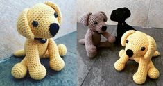 Crochet Labrador: How To Make Your Own Toy Dog - Tap the pin for the most adorable pawtastic fur baby apparel! You'll love the dog clothes and cat clothes!