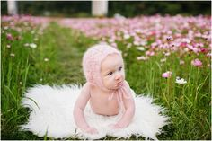 Okinawa Baby Photographer milestone baby pout