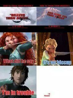 Sorry, Merida and Elsa. Your movies are 2 of my favorites, but it's true. How to Train Your Dragon 2 is the best movie ever! How To Train Your Dragon, Train Dragon, Dragon 2, Disney Crossovers, Disney Movies, Httyd 2, Httyd Dragons, Dreamworks Dragons, Disney And Dreamworks