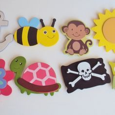 Animal shape cut-out magnet,wood cut-out magnet, monkey magnets, magnet sets