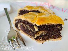 Závin z tvarohového těsta Sweet Cakes, Spanakopita, Cooking Recipes, Baking, Ethnic Recipes, Desserts, Food, Basket, Tailgate Desserts