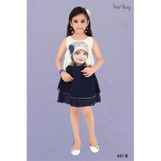 Baby Frock Online, Baby Online, Frocks And Gowns, Girls Dresses Online, Girl Online, Online Dress Shopping, Long Tops, Kids Fashion, Fashion Dresses