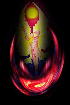'Erleuchtung' von Walter Zettl bei artflakes.com als Poster oder Kunstdruck $16.63