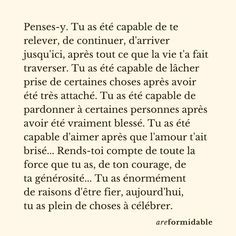 Motivational Poems, Inspirational Quotes, Positive Attitude, Positive Vibes, Words Quotes, Me Quotes, Motivation Text, French Poems, Positive Affirmations