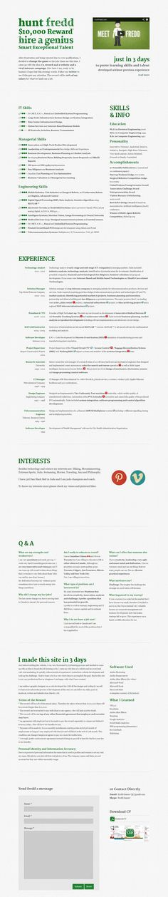 Ramit Sethi Resume 30 Best Resume Portfolios Images On Pinterest  Curriculum Resume .