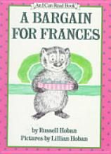 """A Bargain For Francis by Russell Hoban...Oh, how I can remember laying on red shag carpet and reading this book and other Francis books to my lil sister. We even had a lil narrated record to listen to...""""Careful once, careful twice, Being careful isn't nice. Being friends is better."""""""