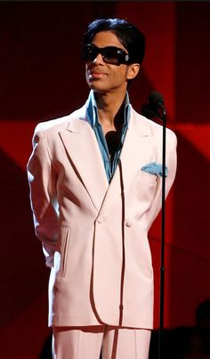 Prince - 49th Grammy awards.  Thanks to Zimbio