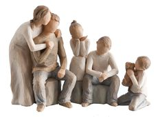 Willow Tree -- how to make a few pieces portray your family!
