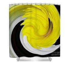 Daffodil Twist Shower Curtain  http://fineartamerica.com/products/daffodil-twist-sarah-loft-shower-..  #showercurtains #sarahloft #digitalart #digital #abstract #flowers