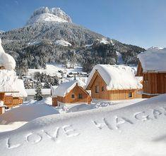 Lyžovanie v Rakúsku, ubytovanie - Hagan Lodge Snowboard, Germany Europe, Lodges, Ideal Home, Mount Everest, Condo, Spa, Cabin, Vacation