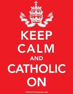 Calm & Catholic