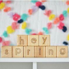 Hey, hi, please stick around spring! 🖐️️🌱🌼🌿🌸🐛🌻🐌    #Regram via @bannortoys