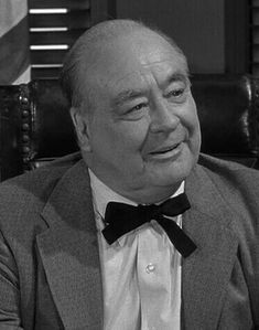 Dick Elliott as Mayor Pike in THE ANDY GRIFFITH SHOW