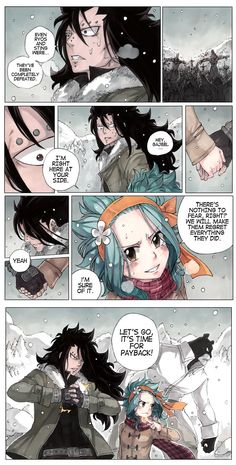 Fairy Tail (フェアリーテイル) - Gajeel & Levy. ❤︎ | sketchy ✖ flavor