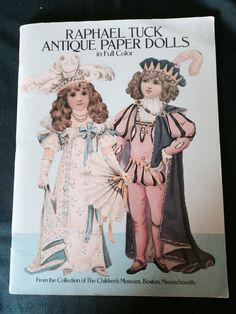 Antique Paper Dolls, From the Collection of The Children's Museum, Boston, Massachusetts by JustClickThreeTimes on Etsy