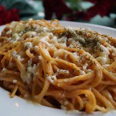 spagetthi en crema de chipotle