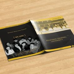"""My first ever brochure design was for @sdukz in 2007. Slogan by me """"Gaining Knowledge, Achieving Success"""". #brochure #design #sdu #press #university #univer #printdesign #print #colorful #brochures #black #yellow #serious #your #future #we #gaining #knowledge #achieving #success #slogan #slogans #best @mr_zapir @bexbbk"""