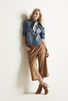 The season's mix-and-match bests: new neutrals, open-shoulder tops, and day-to-night denim.
