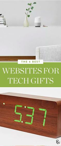 6 of the best websites for tech gifts